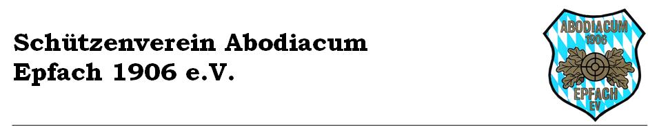Schützenverein Abodiacum Epfach 1906 e.V.